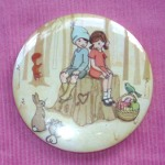 "Belle & Boo pocket mirror: ""Meet me at out tree"""